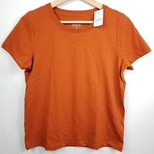 J.Crew Broken-in Knit Goods Cotton Tee